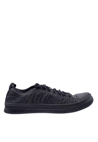 Hush Puppies black Hush Puppies Women's Schnoodle Laceup Sneaker - Black 47417SH9BD7F5DGS_1