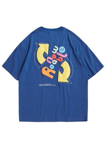 Twenty Eight Shoes Foam Printed Short T-shirt 1539S21 9E63EAAF67DE50GS_1