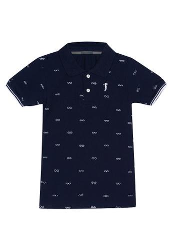 BOSSINI KIDS blue Boys Polo Shirt 1AD20KA27FE0B0GS_1