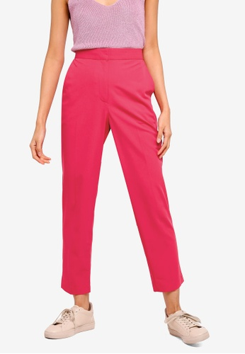 TOPSHOP 粉紅色 Kleo Trousers A9A23AA72FCC18GS_1