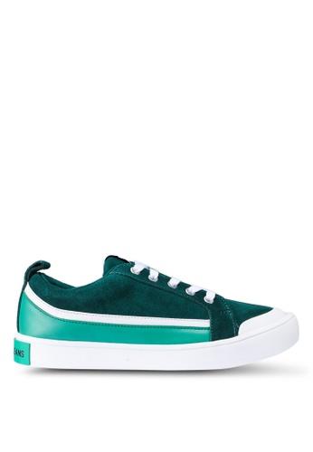 Calvin Klein green Dino Sneakers CEA44SHEA9CB56GS_1