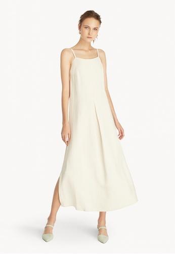 Pomelo multi Premium Strappy Loose Dress - Cream 246CCAA7681B61GS_1
