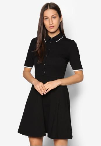 滾邊襯衫esprit 台北式洋裝, 服飾, 洋裝