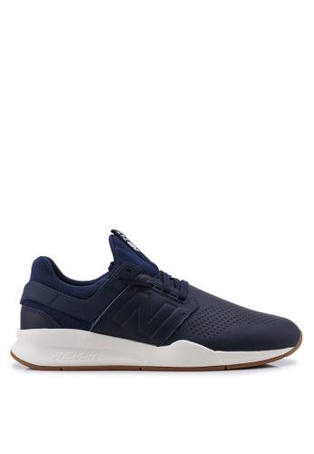 New Balance navy 247 V2 Lifestyle Shoes 1119DSHB9AB97BGS_1