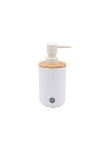 Primeo white Premium Bamboo White Soap Lotion Alcohol Dispenser Soap Dispenser BDD5FHL76D0D09GS_1