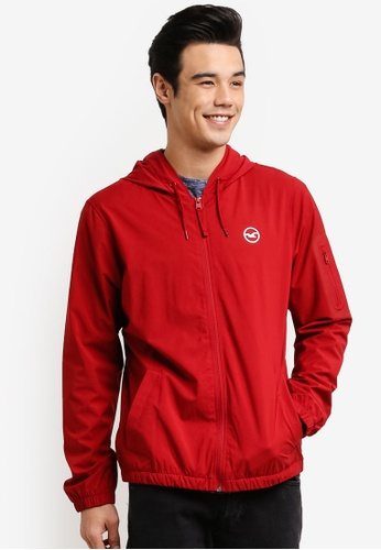Hollister red Hersery Lined WB Jacket HO422AA0RDVOMY_1