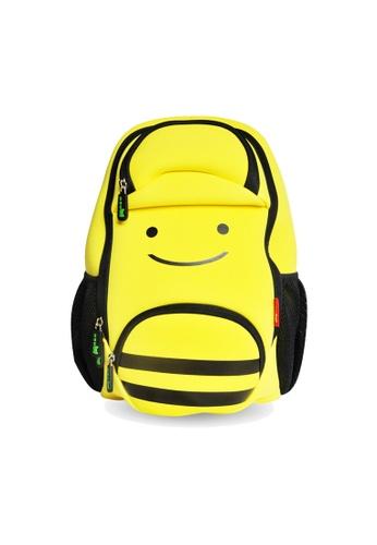 Nohoo yellow Nohoo Kids Backpack Smiley Bee (Yellow) 602D1KCEE40850GS_1
