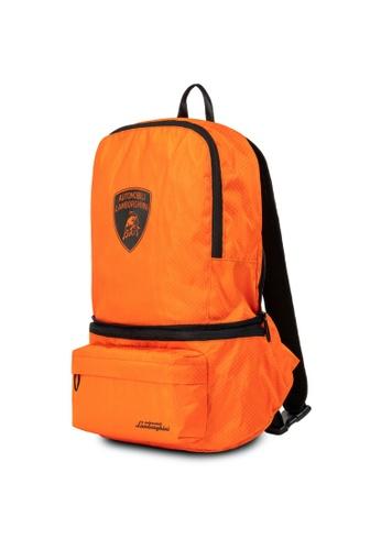 Lamborghini orange Automobili Lamborghini® Galleria Orange Backpack EFFE7ACFA9BE64GS_1