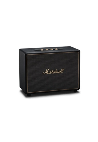 Marshall black Marshall Woburn Mulit-room speaker - Black MA130AC2VYPTHK_1