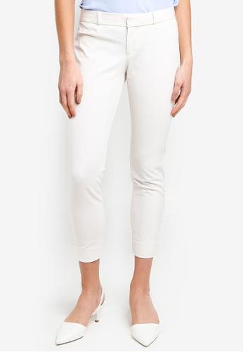 Banana Republic white Sloan Cream Pants 5B9B6AA37D087DGS_1