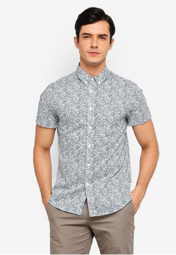 c21f44c550 ... Casual Button Down Shirts Men Macy s Source · Buy Electro Denim Lab  Printed Short Sleeve Button Down Shirt Online