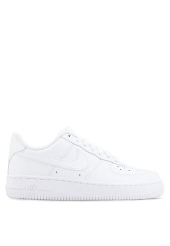womens nike air force 1 white. nike black and white womenu0027s air force 1 u002707 shoes ni126sh31yfsmy_1 womens