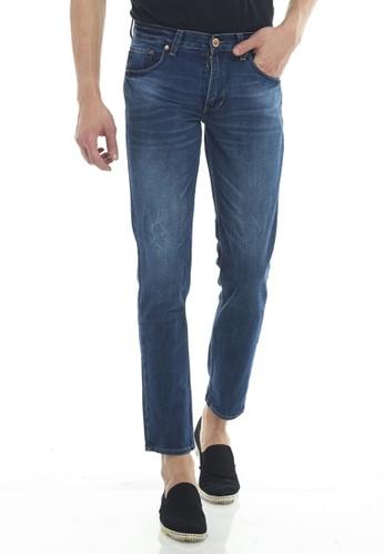 2nd Red blue 2Nd Red Jeans Fashion Premium Regular Fit Denim Dark Blue 124711B 526BAAA2C3FEEFGS_1
