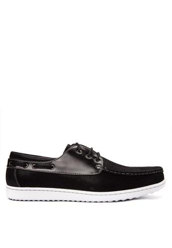 Italianos black Ollie Loafers IT153SH0KJ1FPH_1