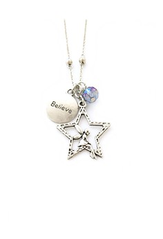 Fairy and Believe Necklace