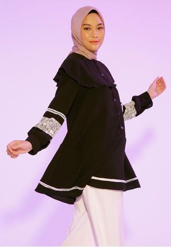 HijabChic black Reyna Black F0718AA5F47C0BGS_1