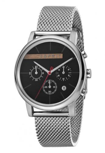 Esprit grey Esprit Men Vision Black Mesh ES1G040M0045 41596AC2EFC1E6GS_1