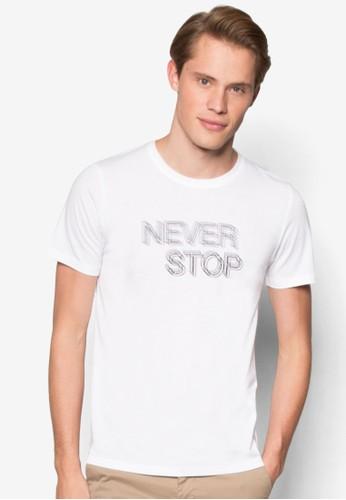 Never Stopzalora 心得 圓領TEE, 服飾, T恤