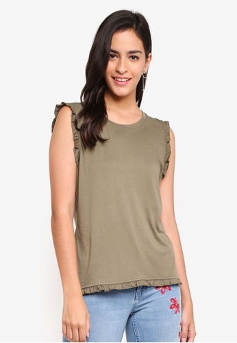 ONLY green Signe S/l Top Jrs 17C54AA10178CBGS_1