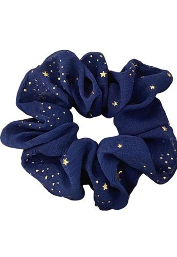Kings Collection blue Star Scrunchy (HA20058a) C0135ACB73370DGS_1