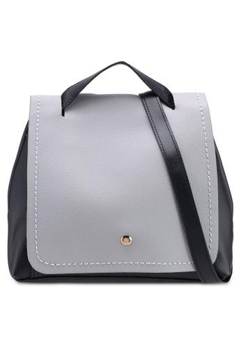 Berrybenka grey Sophia Catsep Backpack 5A18DAC6C6FC02GS_1