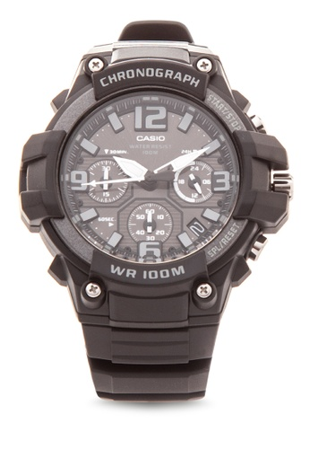 Casio black Analog Watch MCW-100H-1A3VDF-BLACK CA076AC22BIFPH_1