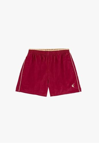 "FOREST red Forest 100% Cotton Twill Woven Casual 15"" Short Pants Men - Seluar Pendek Lelaki - 60091-Maroon 46A6DAA40CF4CCGS_1"