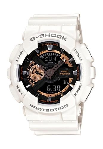 06c07fc4c514 Casio white CASIO G-SHOCK WATCH GA-110RG-7ADR 4056EACF623858GS 1