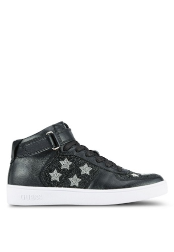Guess black Suzy Star Sneakers GU020SH0S7KVMY_1
