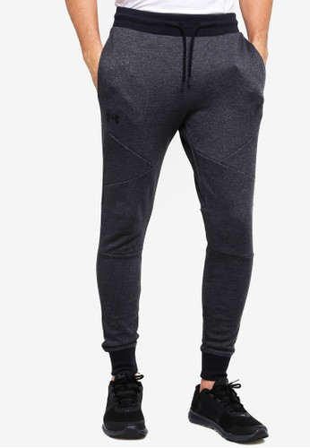 Under Armour black Unstoppable 2X Knit Joggers A98B5AADE5C21BGS_1