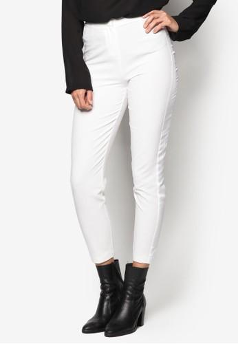 綢緞拼接煙管長褲esprit 童裝, 服飾, 長褲及內搭褲