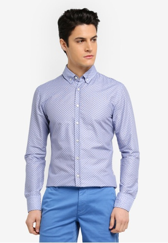 BOSS blue Preppy Shirt - Boss Casual BBFA7AA5E22B91GS_1