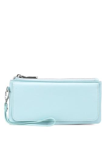 nose blue Plain Long Wallet 494C9AC01410CCGS_1
