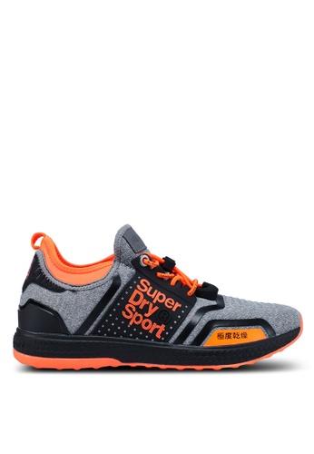 Superdry grey Windsprinter Runner Sneakers EA5EDSHC740724GS_1