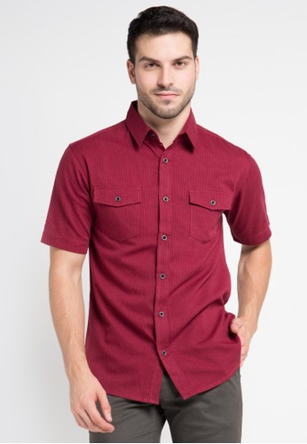 INTRESSE red Barrister Casual Short IN544AA0VQ8LID_1