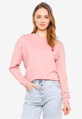 BYJO pink Sweatshirt E6637AA50E3EE2GS_1