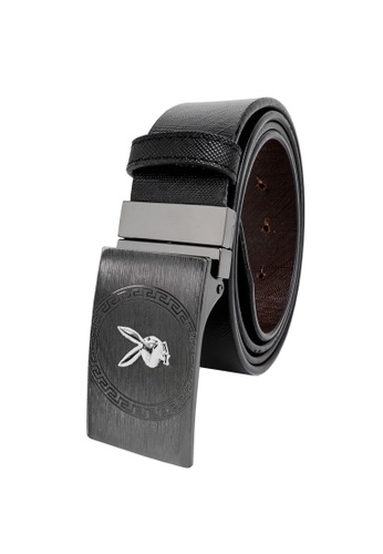 Playboy black and brown Faux Leather 35mm Reversible Belt 3B6E1ACD3B81B1GS_1