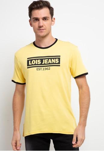 Lois Jeans yellow Bassic T-Shirt Rib KSL1969 D964DAAFB6B713GS_1