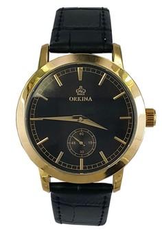 Business Attire Case Leather Strap Watch