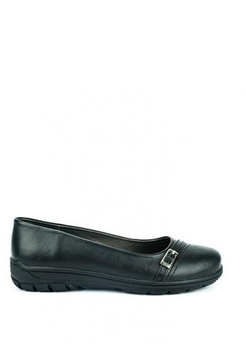 Cardam's Lifestyle black Jingky Shoes 1D073SH3B41B4BGS_1