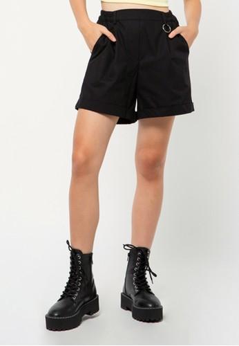 COLORBOX black Short Cargo Pants 5E430AA2B83C77GS_1