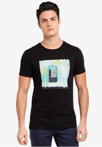 BOSS black Timen 1 T-Shirt 4258DAAE104B6BGS_1