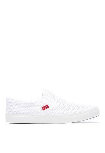 Life8 white Men and women breathable mesh slip on casual shoes-09664-white LI286SH0RR56MY_1