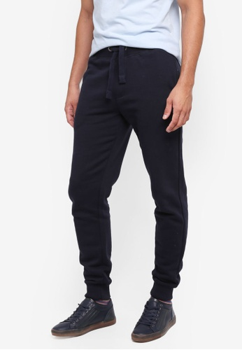French Connection blue Classic Sweat Jogger 50A4CAA043E15AGS_1