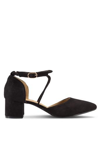 Ruth Pointed Toe Block Heel