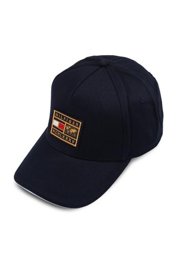 Tommy Hilfiger navy Th World Badge Cap F9162AC655C901GS_1