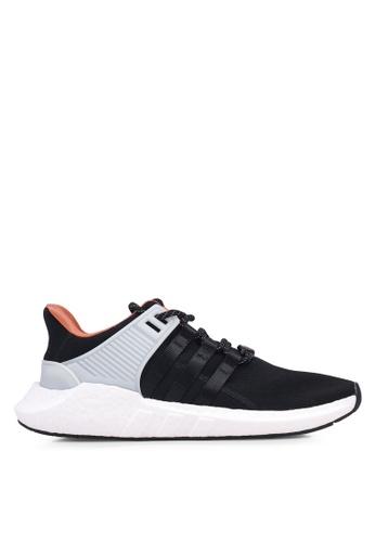 adidas black adidas originals eqt support 93/17 EEB0ASHE9BB754GS_1