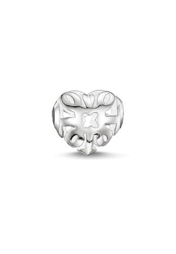 THOMAS SABO silver Karma Bead Ornament Heart FE668AC8D6C404GS_1