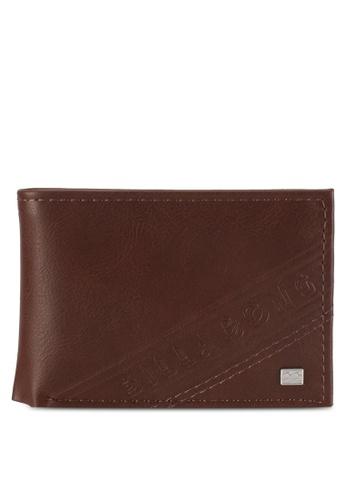 Billabong brown Line Up Wallet BI783AC0SXILMY_1