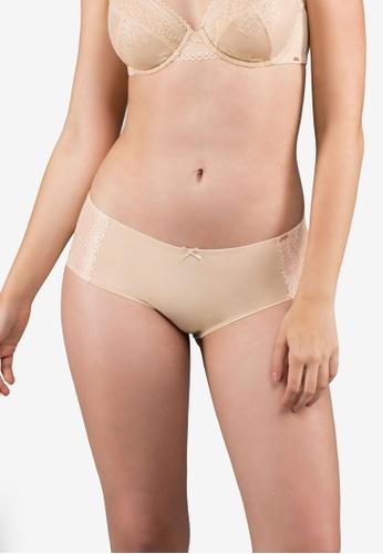 Dorina beige Isabelle Hipster Panties DO523US0RZIZMY_1
